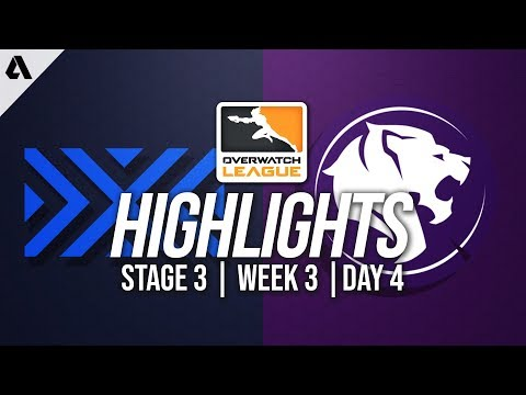 New York Excelsior vs Los Angeles Gladiators | Overwatch League Highlights OWL Stage 3 Week 3 Day 4