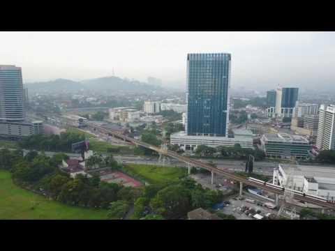 Aerial view: Petaling Jaya, Malaysia