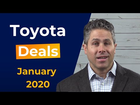 full-list-of-toyota-incentives-and-lease-deals-for-january-2020