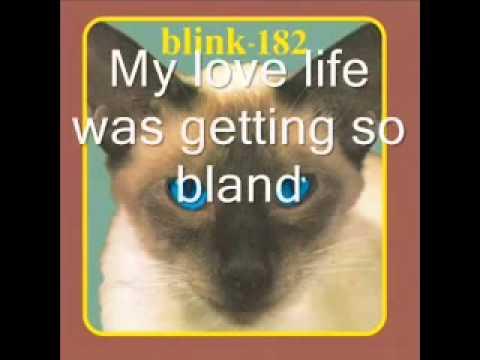 Blink 182 M+Ms lyrics
