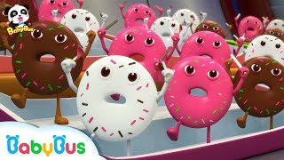 Donut Sports Competition | Ice Cream, Candy Song, Hamburger Song | Pretend Play | Baby Song |BabyBus