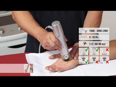 Shockwave therapy from Hull Sports Massage Thumb basal joint arthritis