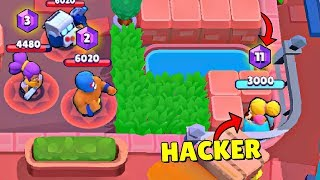 300 IQ HIDING SPOT in Brawl Stars! Wins & Fails #46