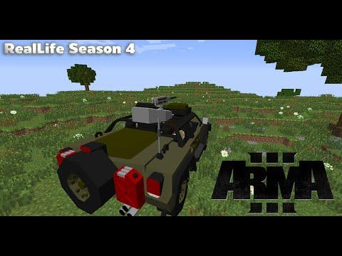 Minecraft เซิฟ Reallife SS4 #2 : จำลองการเป็นตำรวจ(มั้ง),สู้กับโจร [MOD] - Rivth28