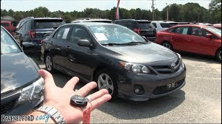 The 2011 Toyota Corolla S - For Sale Review @ Ravenel Ford - August 2018