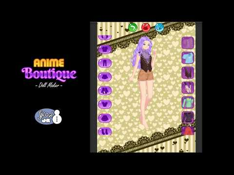 [Dressup Game] Anime Boutique: Doll Maker