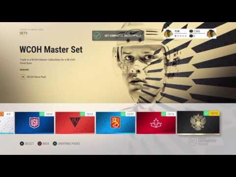 NHL 17 - HUT 96 OVR Pavel Bure -  Master Set 1