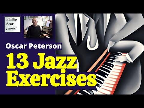 Oscar Peterson : 13 Jazz Exercises