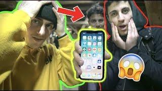 UN INCONNU NOUS DONNE SON IPHONE X !! | SKATEPARK DE LAUSANNE | BNOG #9