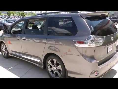 2016 Toyota Sienna Se Premium 8 Penger