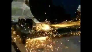 Процесс резки швеллера(, 2016-04-20T16:23:48.000Z)