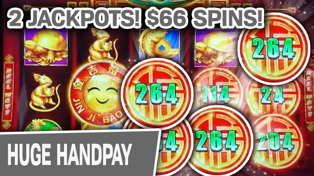 ✌ 2 JACKPOT HANDPAYS on the LAS VEGAS STRIP ✨ I'm Betting $66/Spin on Rising Fortunes
