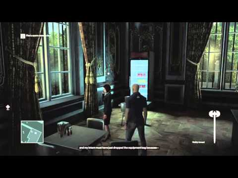 Killing Girl With A Battle Axe In Hitman Ps4 Youtube