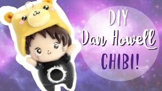 DIY Chibi DAN HOWELL in Polymer Clay! - from DanIsNotOnFire ! -