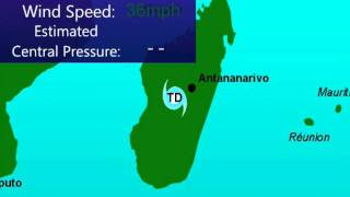 Tropical Cyclone Giovanna (2012), Animation