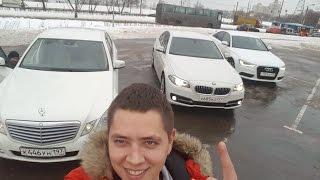 BMW 520 vs MB E200 vs Audi A6 | ИЛЬДАР АВТО-ПОДБОР