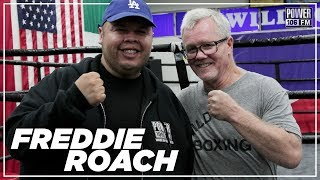 Freddy Roach On Training Manny Pacquiao, Opinion On Floyd Mayweather's Fighting Status, And More!