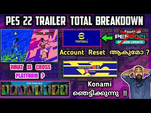 Pes 2022 (e-football ) Trailer Total Breakdown | Is Our Players Are Going To Reset ? | Juve License