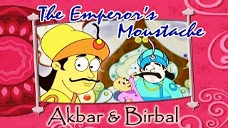 Akbar Birbal Animated Moral Stories || The Emperor's Moustache || Hindi Vol 2
