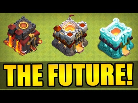 Clash Of Clans - THE FUTURE! UPDATE PREDICTIONS!!