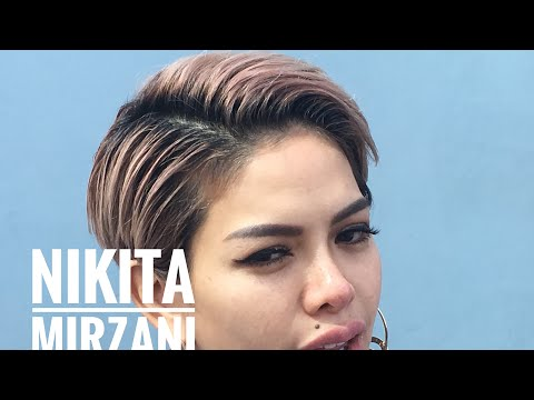 Nikita Mirzani Nyaman Dengan Rambut Bondol Youtube