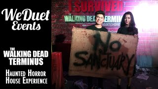 The Walking Dead: TERMINUS Haunted Horror House Experience!