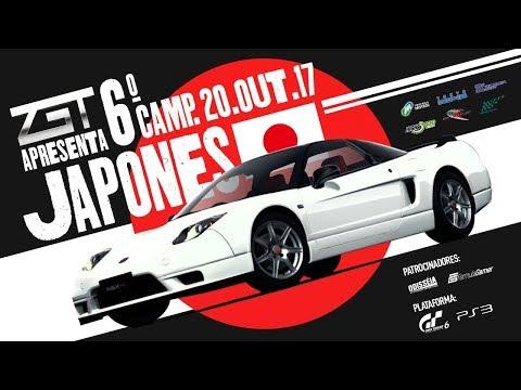 LIGA ZGT Ao vivo - Gran Turismo 6 - 6º Campeonato Japonês 2ª Etapa Motegi Leste - Narração ZUQUEIRO