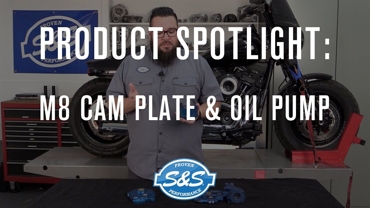 S&S Cycle Product Spotlight - Cam Plate and Oil Pump for M8