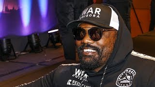 Dereck Chisora EXCLUSIVE: I learned SPEED & PATIENCE from Coldwell