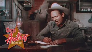 Gene Autry - The Angel Song (from The Strawberry Roan 1948)