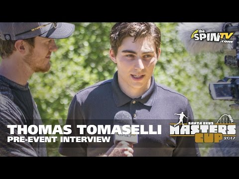 Thomas Tomaselli 2017 Masters Cup Pre-Event Interview