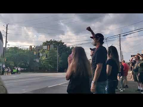 Fayetteville GA Protest