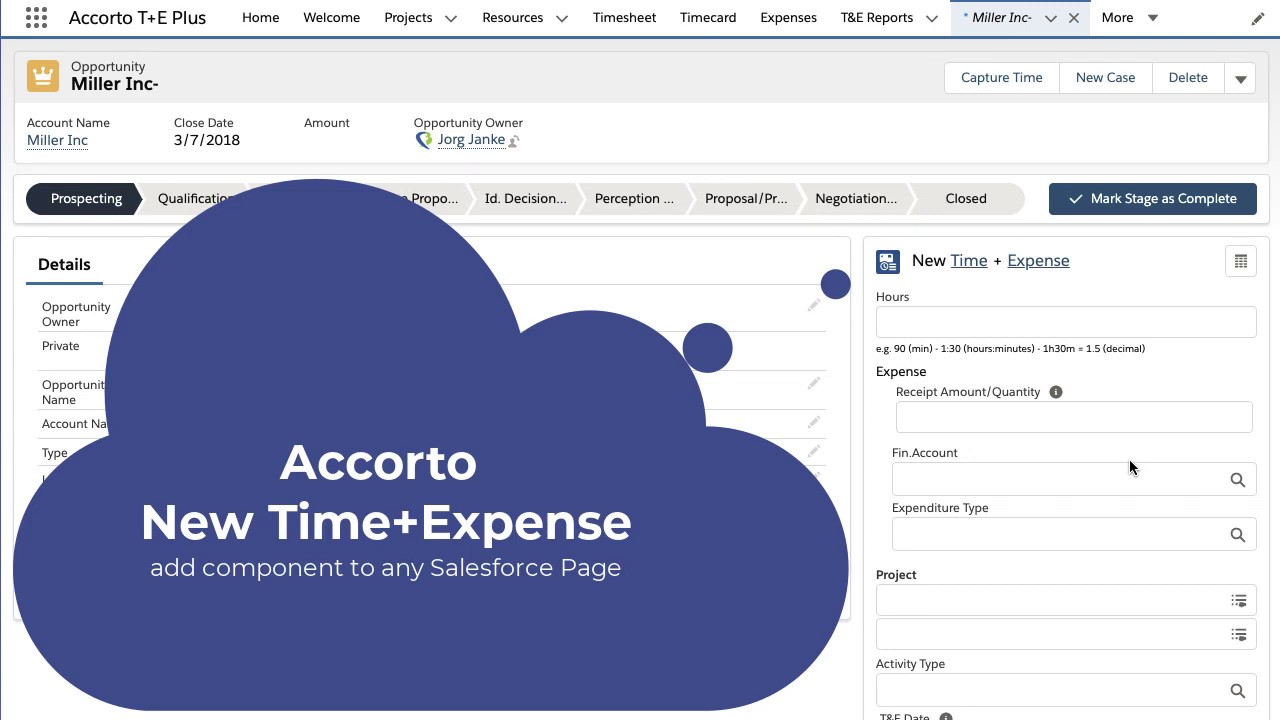 New Time Expense Demo