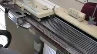 Knitting Machine Sample