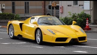 【都内】フェラーリを見に来たレアなフェラーリたち LaFerrari A, LaFerarri, Enzo, F12TDF, 599GTO, Tailor made Ferraris. thumbnail