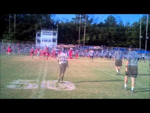 2012 Colts Pee Wees vs Neshoba Red