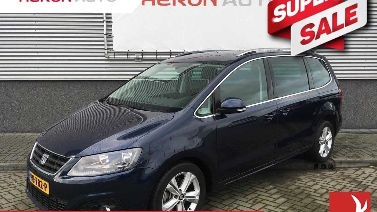 seat alhambra 1 4 tsi 150pk 7 seats style connect youtube. Black Bedroom Furniture Sets. Home Design Ideas