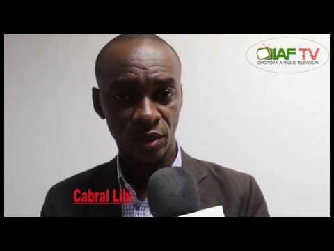 Forum de la diaspora camerounaise: Cabral Libi au micro de Diaf-tv