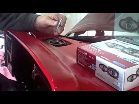 How to Install Dash Speakers - YouTube