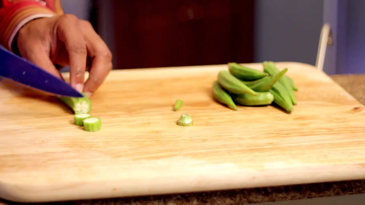 how to cut fresh okra - How To Freeze Fresh Okra