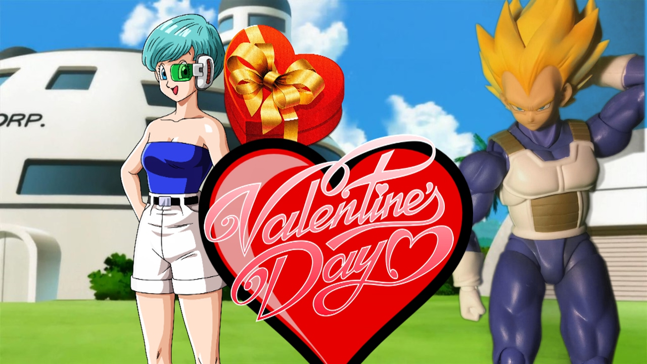 Vegeta S Valentine Day Dragon Ball Z Stop Motion Youtube