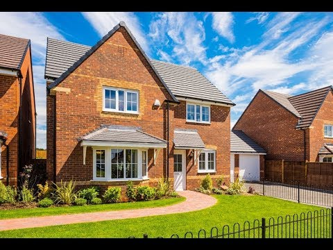 Barratt Homes  - The Cambridge @ The Limes, Cannock, Staffordshire by Showhomesonline