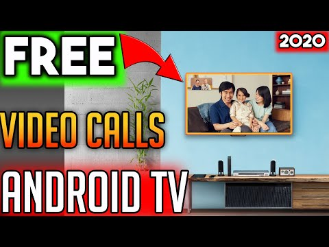 🔴MAKE FREE VIDEO CALLS ON ANDROID TV