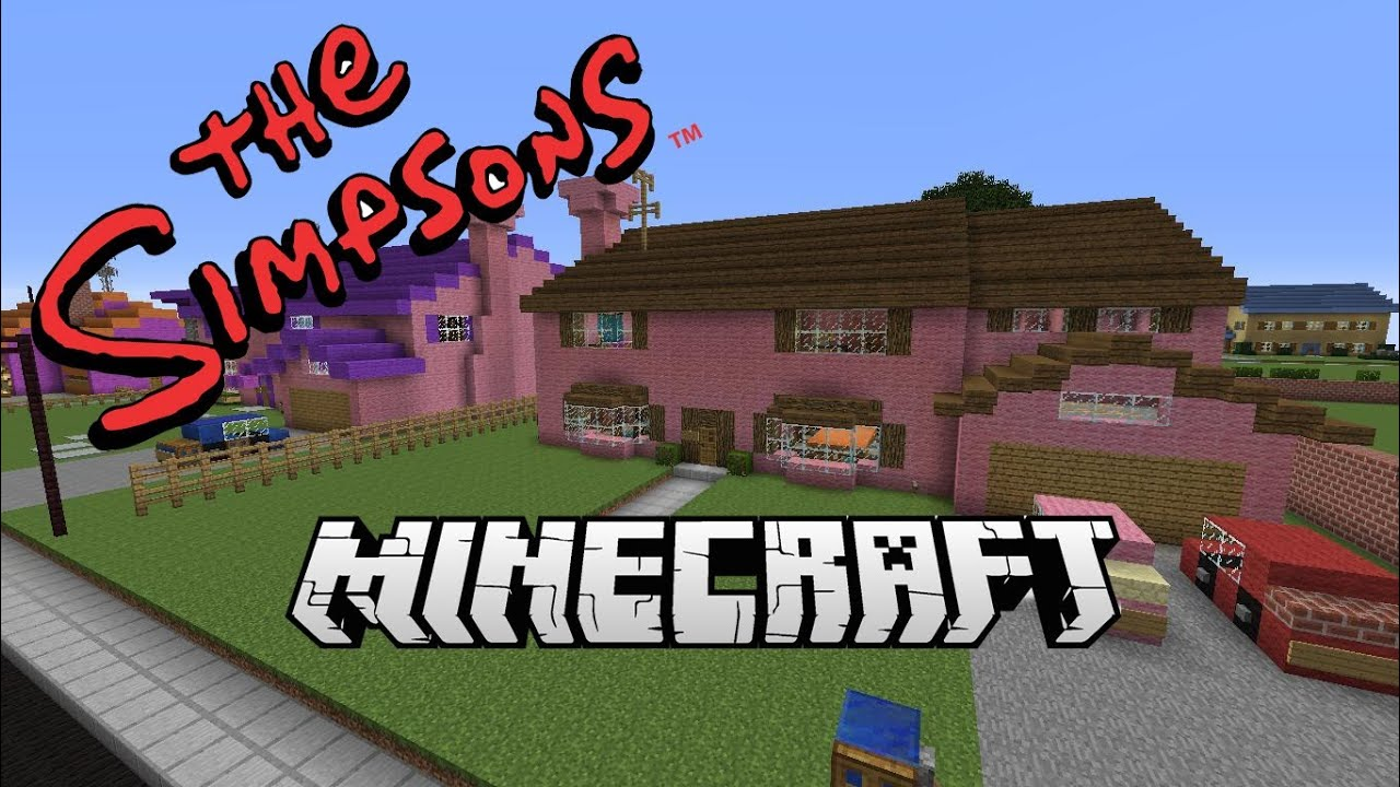 Minecraft awesome simpsons map free download youtube gumiabroncs Gallery