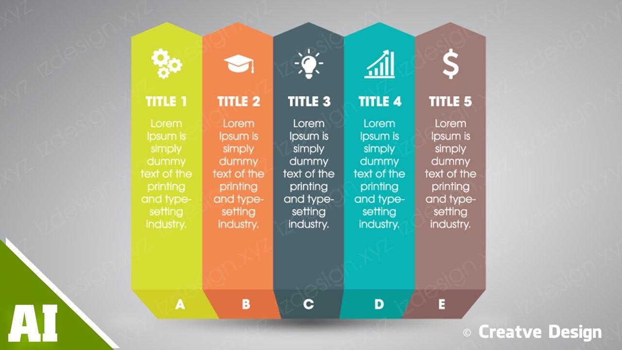 how to desgin 3d infographic diagram creative design youtube rh youtube com creative design studium creative design industries