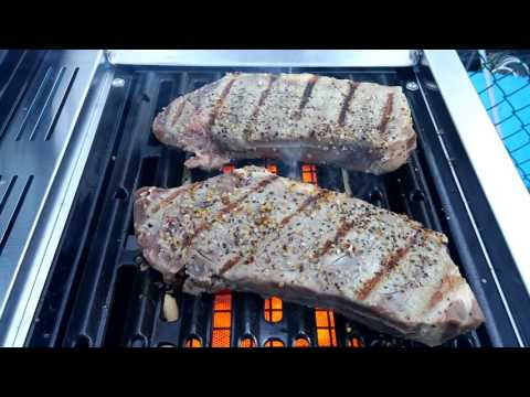 Cooking on the new cuisinart 850 bbq