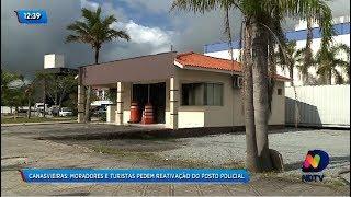 Moradores e turistas pedem reativação do posto policial em Canasvieiras thumbnail