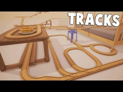 STUNT TRAIN! Hilarious Train Simulator!  TRACKS Gameplay Part 1