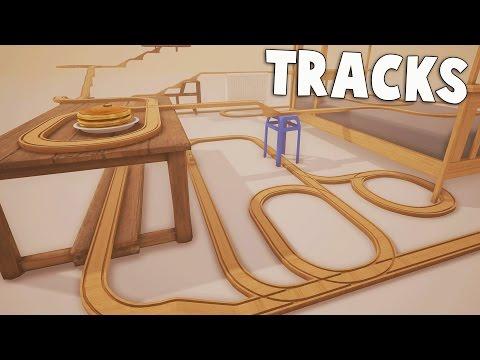 STUNT TRAIN! Hilarious Train Simulator!  TRACKS Gameplay Part 1