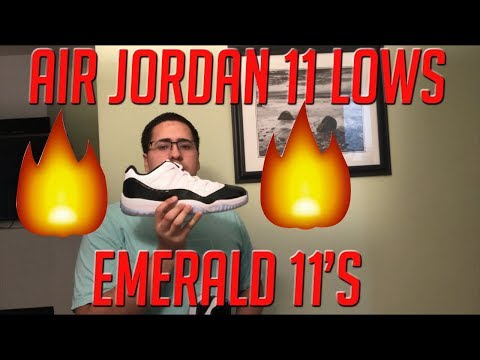 Air Jordan 11 Iridescent/ Emerald On-Feet Review
